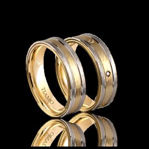 Обручальные кольца TIAMO